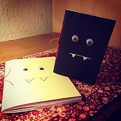 Mini Monster Notebook